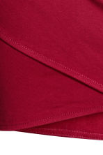 Gonna drappeggiata - Rosso - DONNA | H&M IT 4