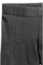 Sturdy jersey leggings - Dark grey/Black -  | H&M 3