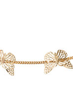 Hairband with butterflies - Gold - Kids | H&M CN 2
