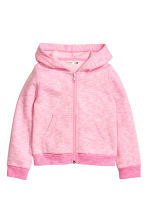 Hooded jacket - Pink marl - Kids | H&M CN 2