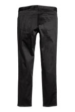 Pantaloni in satin Slim fit - Nero - UOMO | H&M IT 3