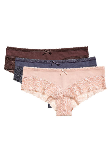 Lot de 3 shortys