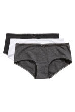 MAMA 3-pack shorts - Dark grey - Ladies | H&M CN 1
