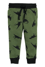 Dark green/Dinosaurs