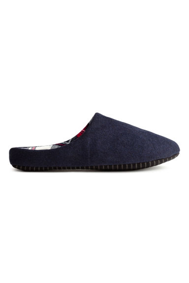 Slippers - Dark blue - Men | H&M CN 1