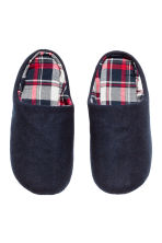 Slippers - Dark blue - Men | H&M CN 2