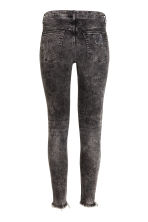 Skinny Ankle Trashed Jeans - Black washed out - Ladies | H&M CN 3