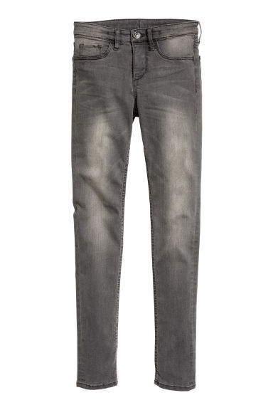 Superstretch Skinny Fit Jeans - Сив - ДЕЦА | H&M BG