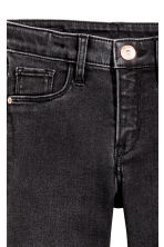 Superstretch Skinny Fit Jeans - 黑色 - 儿童 | H&M CN 4