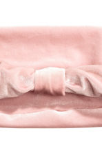 Hairband with a knot - Light pink - Ladies | H&M CA 2