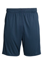 Sports shorts - Dark blue - Men | H&M CN 2