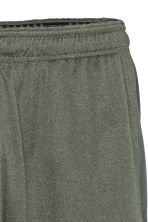 Sports shorts - Khaki green marl - Men | H&M CN 3