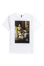 Printed T-shirt - White/Star Wars - Men | H&M CN 2