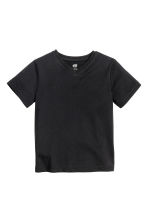 Lot de 2 T-shirts - Noir - ENFANT | H&M FR 3