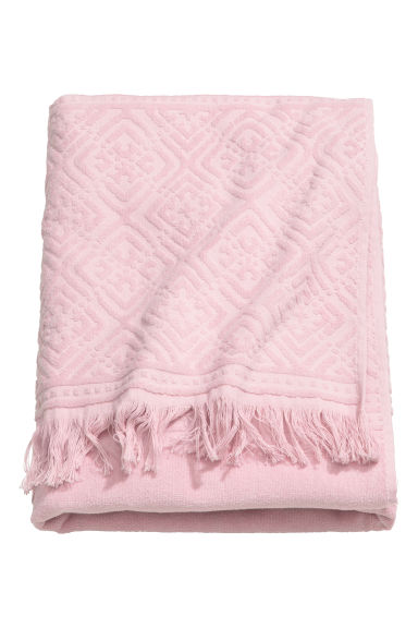 Bath towel - Light pink - Home All | H&M CN 1