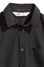 Easy-iron shirt - Black - Kids | H&M 3