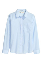 Easy-iron shirt - Light blue - Kids | H&M 3