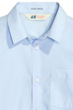 Easy-iron shirt - Light blue - Kids | H&M 4