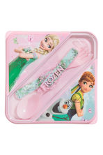 Lunch box - Light pink/Frozen - Kids | H&M CN 1