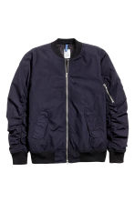 Bomber jacket - Dark blue - Men | H&M CN 2