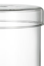 Pot en verre avec couvercle - Verre transparent - Home All | H&M FR 3