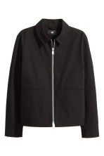 Canvas jacket - Black - Men | H&M CN 2
