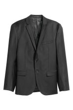 Wool jacket Slim fit - Black - Men | H&M CN 2
