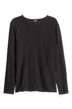 Knitted jumper - Black - Men | H&M CN 2