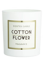 Bougie parfumée - Blanc/Cotton - Home All | H&M FR 2