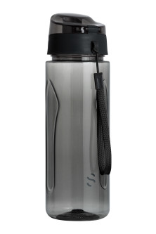 Water bottle with lid