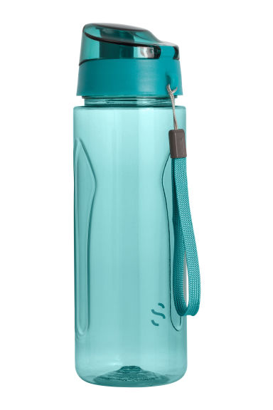 Water bottle with lid - Petrol - Men | H&M CN 1
