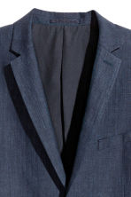Blazer in misto lino - Blu scuro - UOMO | H&M IT 3