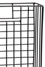 Metal magazine rack - Black - Home All | H&M CA 2