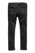 Leggings in denim superstretch - Nero - BAMBINO | H&M IT 3