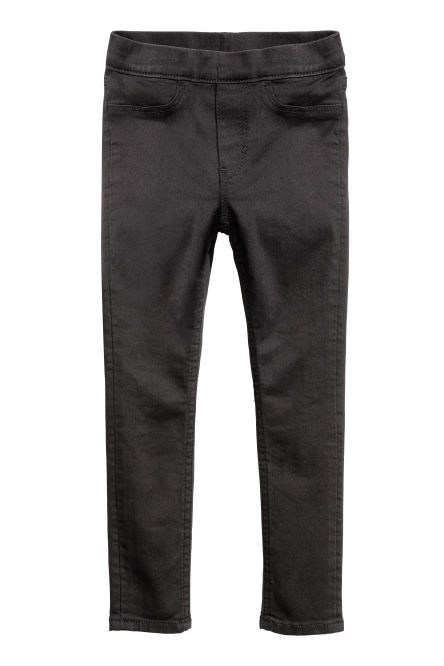 Jegging van superstretchdenim
