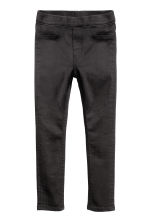 Leggings in denim superstretch - Nero - BAMBINO | H&M IT 2