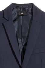 Jacket Slim fit - Dark blue - Men | H&M CN 3