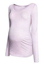 MAMA Long-sleeved jersey top - Lilac - Ladies | H&M CN 2