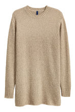 Knitted jumper - Beige - Men | H&M CN 2