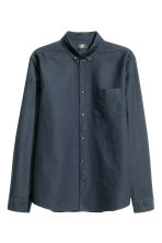 Oxford shirt - Dark blue - Men | H&M CN 2