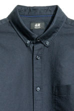 Camicia Oxford - Blu scuro - UOMO | H&M IT 3