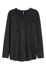 Fine-knit jumper - Dark grey marl - Men | H&M CN 2