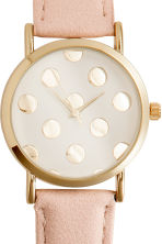 Watch - Powder/Spotted - Ladies | H&M 3