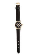 Watch - Black/Spotted - Ladies | H&M CN 2