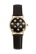 Watch - Black/Spotted - Ladies | H&M CN 1