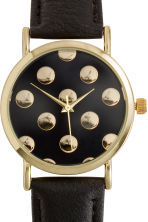Watch - Black/Spotted - Ladies | H&M CN 3