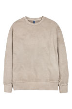 Sweatshirt - Light mole - Men | H&M 3
