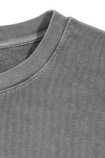 Sweatshirt - Dark grey - Men | H&M 3