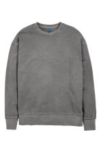 Sweatshirt - Mörkgrå - Men | H&M FI 2