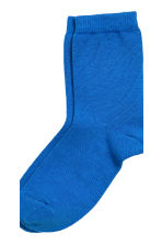 7-pack socks - Cornflower blue -  | H&M CN 4